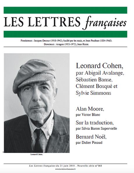 N° 161 – Les Lettres Françaises du 21 juin 2018