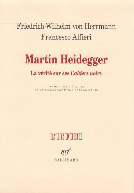 Retour à l'impardonnable Heidegger