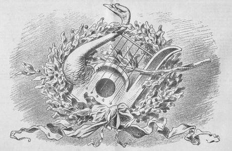 20 juin 1886. L'hommage du Kikeriki au roi Louis II de Bavière.