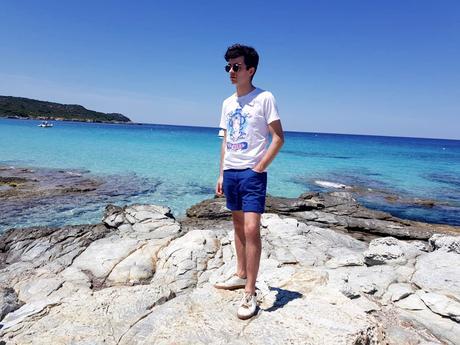 blog-mode-style-homme-paris-bordeaux-corse-plage-du-lotu-look-estival-ete-vacances-bagues-tshirt-twentyshirt-somewhre-short-coton-oxford-lunettes-soleil-edwardson-eyewear-thomas-sabo