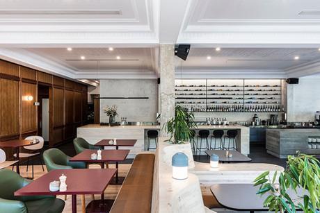 Un restaurant à la décoration inspirée de son environnement
