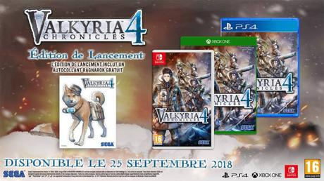 VALKYRIA CHRONICLES 4 pc ps4 xbox one