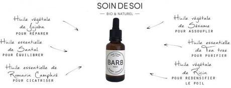 Soin de soi : soins 100% naturels & bio pour la barbe