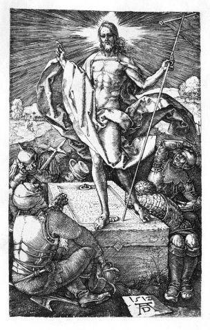 Durer Resurrection Grande Passion 1512
