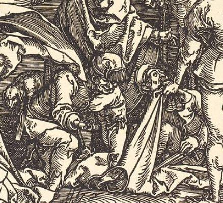 Durer BD 08 Calvary with the Three Crosses 1504-05