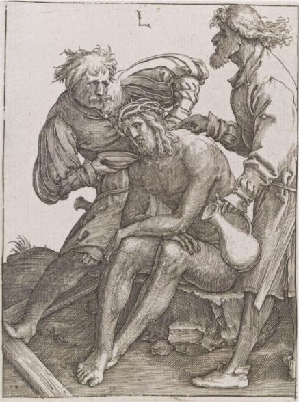 Durer BD 09 vin fiel Lucas de Leyde vers 1512