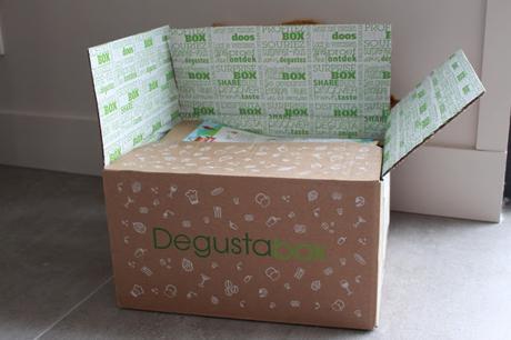 DÉGUSTA BOX DE MAI + CODE PROMO