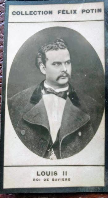 Ludwig II. König v. Bayern, Echte Foto Collection Felix Potin ca. 1901 - 1908