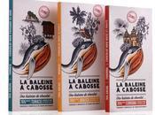 Packaging L'histoire baleine Cabosse, marque chocolat colombie