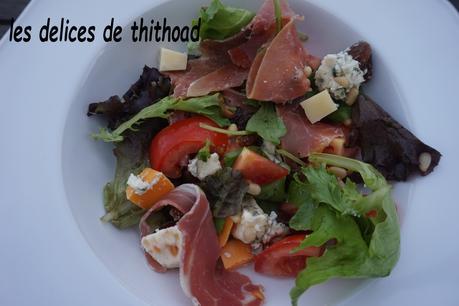 salade fromagère, méli , mélo!