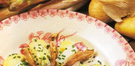 La salade d'asperges