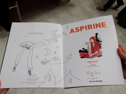 Aspirine : cure de jouvence pour Joann Sfar