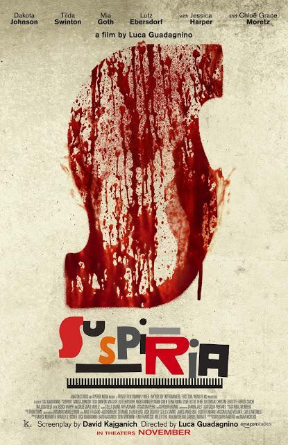 Nouvelle affiche US pour Suspiria de Luca Guadagnino
