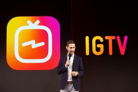 Instagram dévoile sa plate-forme IGTV.