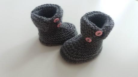 Chaussons pour bébés en mode DYI