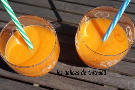 smoothie carotte et orange