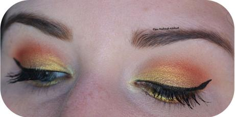 Gold Makeup ~ Life's a Festival Too Faced