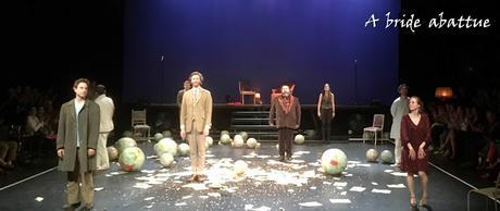 Le maitre et Marguerite dans la mise en scène d'Igor Mendjisky