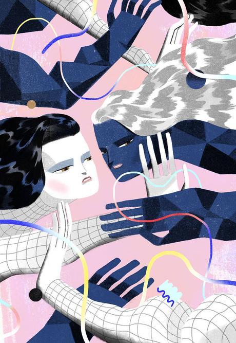 Conceptual illustrations by Jun Cen