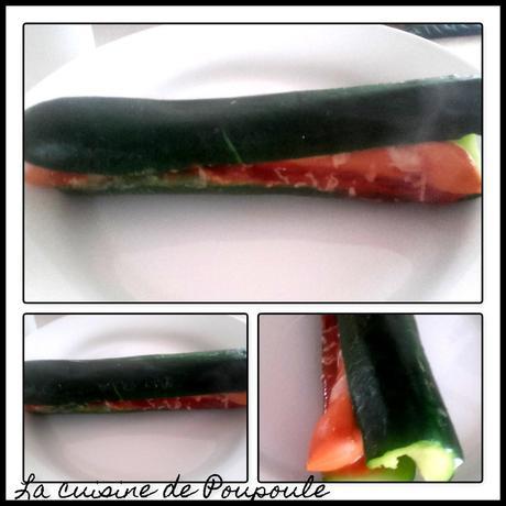Hot-dogs de courgettes