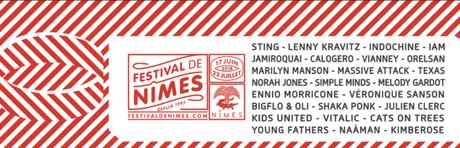 Musique : Le festival de Nimes 2018