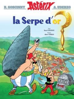 Couverture Astérix, tome 02 : La serpe d'or
