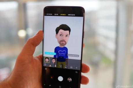Samsung Galaxy S10 opterait pour la reconnaissance faciale 3D.
