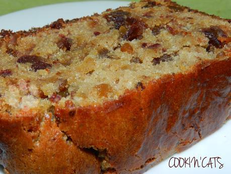 CAKE DATTES - PUREE D'AMANDE (sans gluten, végétalien)