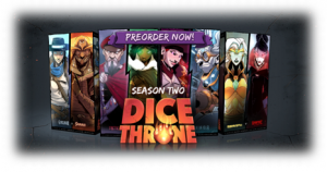 Dice Throne Saison 1, prenez le pouvoir ! Chez Roxley Games