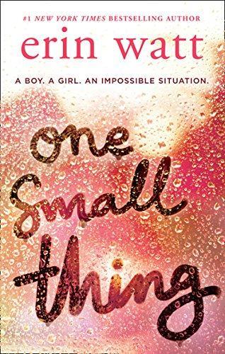 Mon avis sur One Small Thing d'Erin Watt : et si une seule petite chose pouvait changer votre vie?