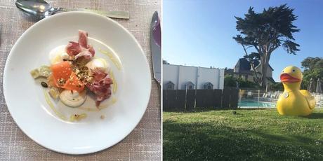 chateau des tourelles la baule pornichet hotel luxe sejour bretagne restaurant bord de mer