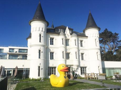 chateau des tourelles la baule pornichet hotel luxe sejour bretagne