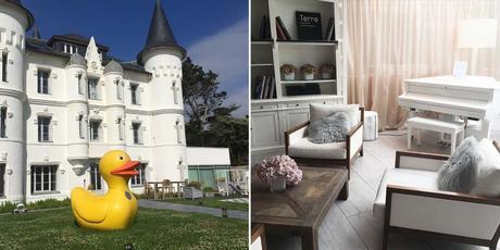 chateau des tourelles la baule pornichet hotel luxe sejour bretagne décoration bord de mer