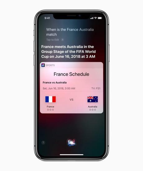 Toutes les nouvelles de la Coupe du monde sur les appareils et services d'Apple Presse