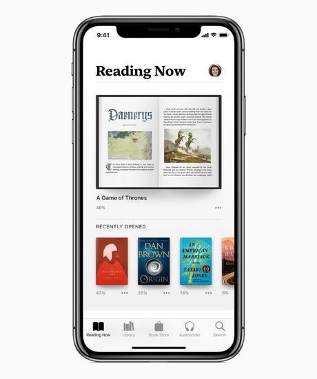 La toute nouvelle app Apple Books pour iPhone et iPad célèbre la lecture Presse