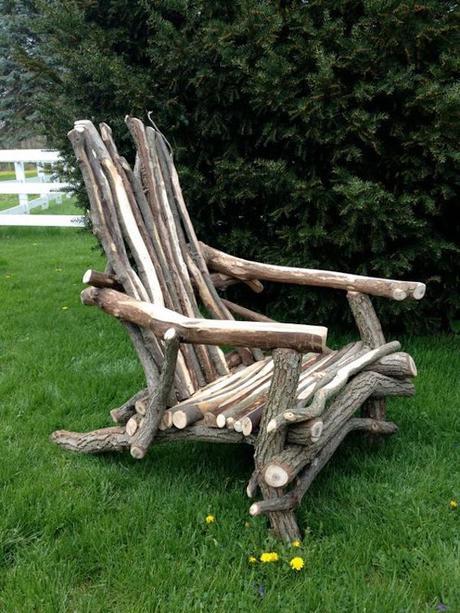 que faire avec un morceau de tronc d arbre. Black Bedroom Furniture Sets. Home Design Ideas