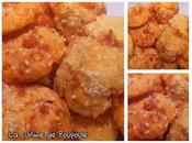 Cookies chorizo, sésame sans gluten