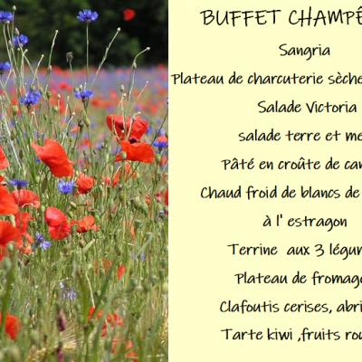 Buffet champetre