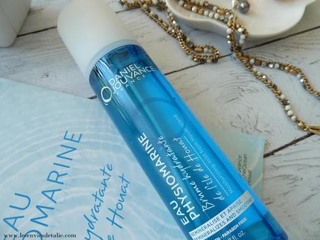 L'eau physiomarine de Daniel Jouvance, hydratante et apaisante