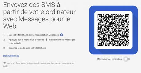 Android Messages : des nouvelles fonctions utiles grâce au protocole « RCS », dont l'envoi de textos depuis l'ordinateur…