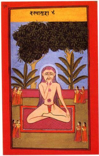 La rétention à vide, clé du yoga
