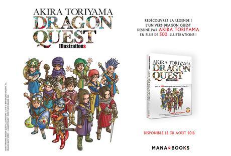 L'artbook Akira Toriyama Dragon Quest Illustrations annoncé chez Mana Books