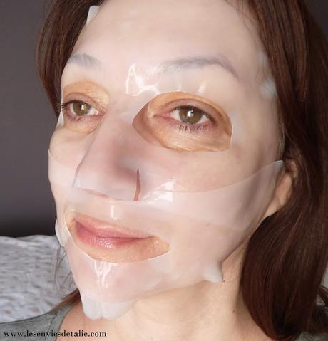 Les masques hydrogel Kiss New York
