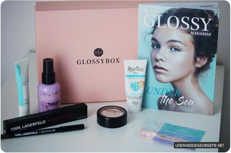 Glossybox de Juin : Under the sea