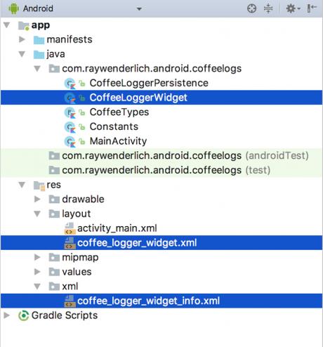 Tuto sur App Widgets pour Android : Partie 1 : créer un widget