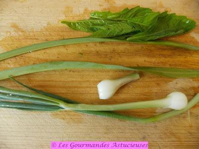 Riz sauté aux pois Capucine et salade de lentilles (Vegan)
