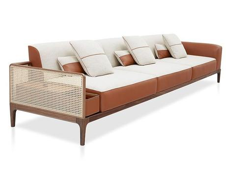 canape deco cannage moderne hermes noe Duchaufour Lawrence