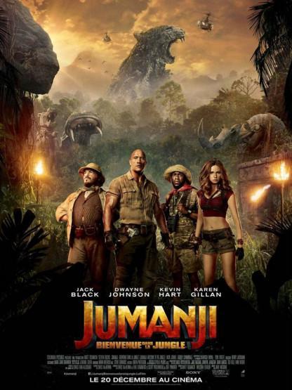 J'ai vu Jumanji : bienvenue dans la jungle de Jake Kasdan