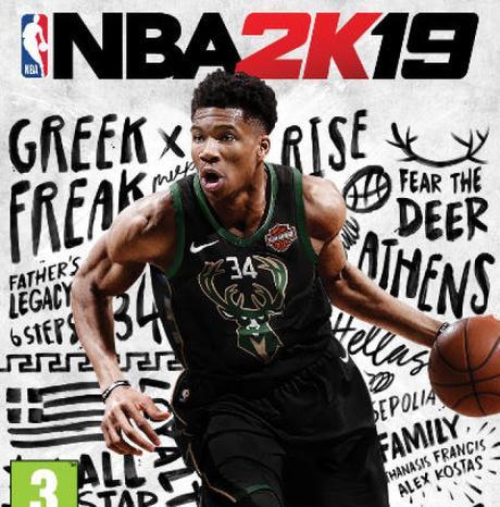 #Gaming - #NBA 2K19 - Giannis Antetokounmpo en couverture de l'édition standard