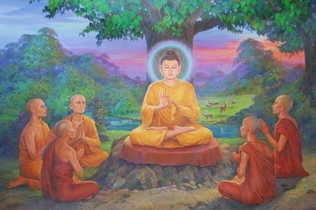 Le bouddhisme et la vie des moines de tradition Theravada